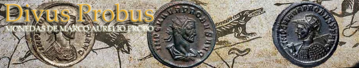 Divus Probus. Monedas de Marco Aurelio Probo (276-282 dC)